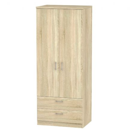 Devon Tall 2 Drawer Robe